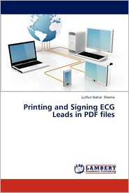 Printing and Signing ECG Leads in PDF Files