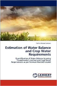 Estimation of Water Balance and Crop Water Requirements