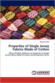 Properties of Single Jersey Fabrics Made of Cotton - Roqaya Sadek