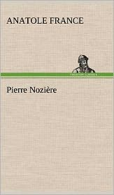 Pierre Nozi Re - Anatole France