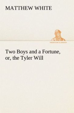 Two Boys and a Fortune, or, the Tyler Will - White, Matthew