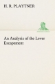An Analysis of the Lever Escapement - H. R. Playtner