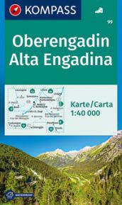 Oberengadin/Alta Engadina 1:40.000