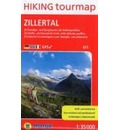 Zillertal Hiking tourmap 1 : 35 000