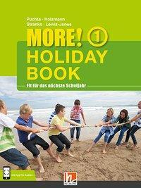 MORE! Holiday Book 1, mit 1 Audio - Christian Holzmann, Herbert Puchta, Jeff Stranks, Peter Lewis-Jones