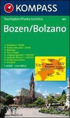 Pianta della città n. 480. Italia. Bolzano 1:8.000
