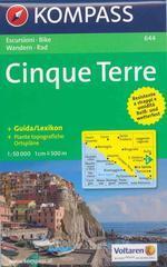 Carta escursionistica n. 644. Costa Azzurra, Liguria. Cinque Terre 1:50.000