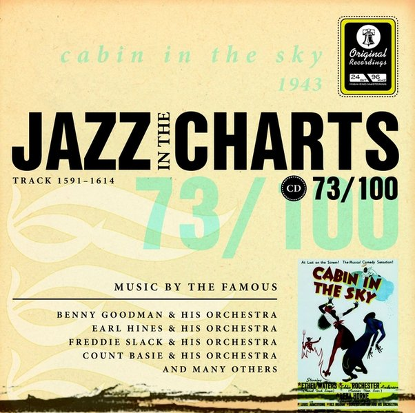 Jazz in the Charts 73.cabin in the sky  1943, - Klußmeier, Gerhard (Hrsg.)