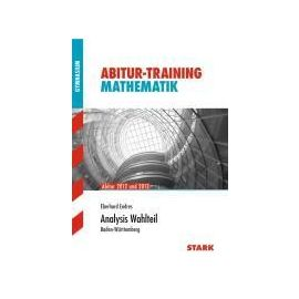 Abitur-Training Mathematik Analysis Wahl BW