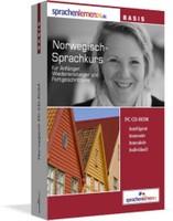 Norwegisch-Basiskurs CD-ROM - sprachenlernen24