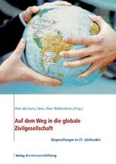 Auf dem Weg in die globale Zivilgesellschaft - Bürgerstiftungen im 21. Jahrhundert - Peter deCourcy Hero, Peter Walkenhorst