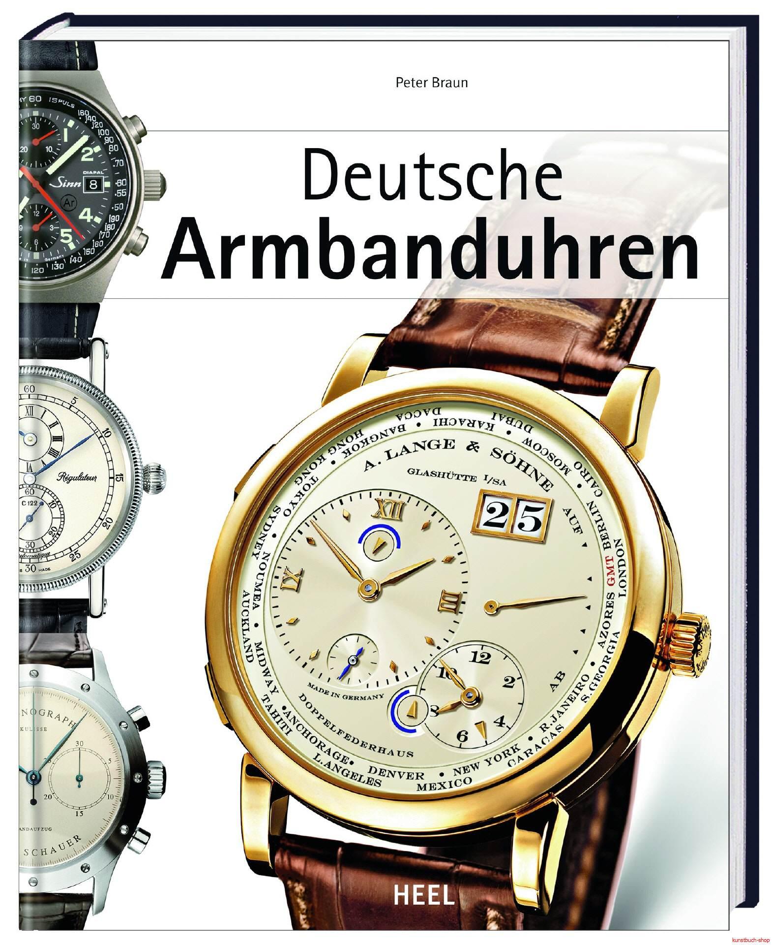 Deutsche Armbanduhren - Peter Braun