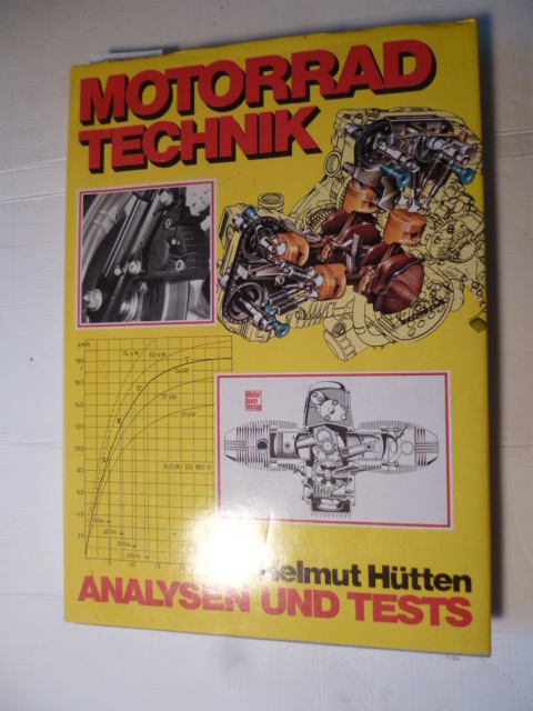Motorrad-Technik : Analysen u. Tests - Hütten, Helmut