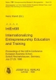 IntEnt98 - Internationalizing Entrepreneurship Education and Training - Heinz Klandt