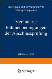 Veranderte Rahmenbedingungen der Abschlussprufung: Entstehung und Bewaltigung von Prufungskomplexitat - Adriana Toso