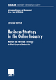 Business Strategy in the Online Industry - Christian Göttsch