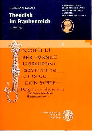 Theodisk im Frankenreich - Jakobs, Hermann