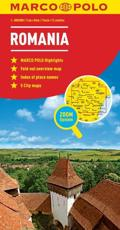 Romania Marco Polo Map - Marco Polo Travel Publishing