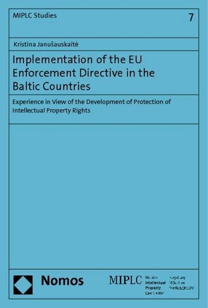 Implementation of the EU Enforcement Directive in the Baltic Countries
