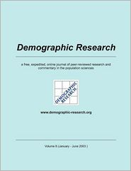 Demographic Research, Volume 8 - Max-Planck-Institute f r demograf. Fors (Editor)