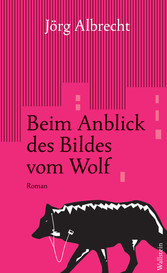 Beim Anblick des Bildes vom Wolf - Roman - Jörg Albrecht