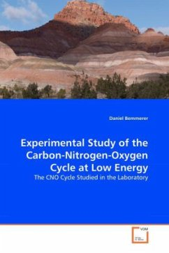 Experimental Study of the Carbon-Nitrogen-Oxygen Cycle at Low Energy - Bemmerer, Daniel