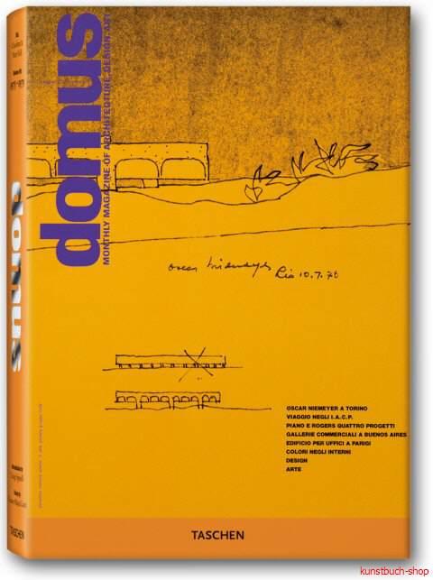 domus 1975 - 1979 - Band VIII: Erste Anzeichen eines ökologischen Bewusstsein  The Best from the Seminal Architecture and Design Journal (1928-1999) in 12 Bänden - Charlotte J. Fiell, Peter M. Fiell