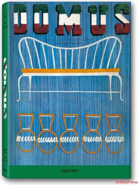 domus 1940 - 1949 - Band II: Zerstörung und Wiederaufbau  The Very Best from the Seminal Architecture and Design Journal (1928-1999) in 12 Bänden - Charlotte J. Fiell, Peter M. Fiell