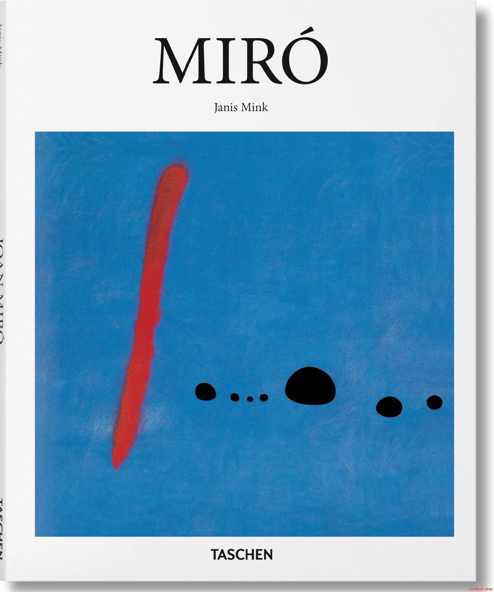 Joan Miró 1893 - 1983  Hardcover - Janis Mink