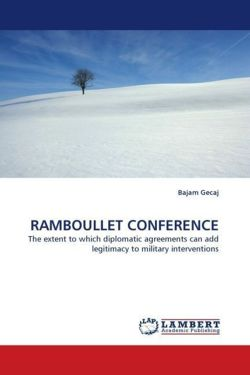 RAMBOULLET CONFERENCE