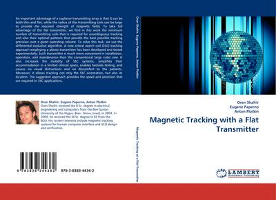 Magnetic Tracking with a Flat Transmitter - Oren Shafrir
