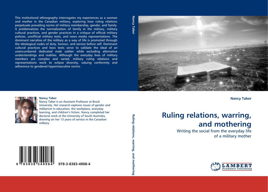 Ruling relations, warring, and mothering als Buch von Nancy Taber - LAP Lambert Acad. Publ.