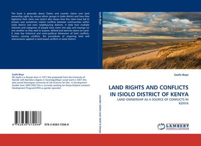 LAND RIGHTS AND CONFLICTS IN ISIOLO DISTRICT OF KENYA - Saafo Boye