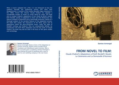 FROM NOVEL TO FILM - Damien Armengol