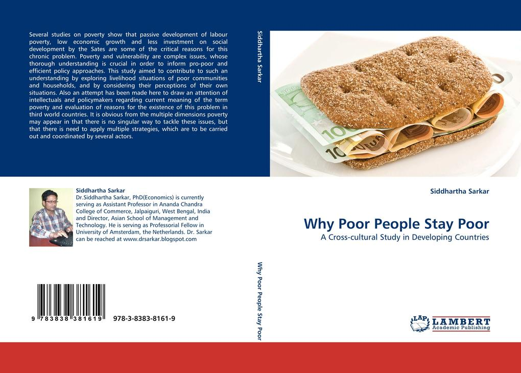 Why Poor People Stay Poor als Buch von Siddhartha Sarkar - LAP Lambert Acad. Publ.