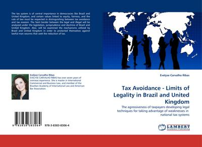 Tax Avoidance - Limits of Legality in Brazil and United Kingdom - Evelyse Carvalho Ribas