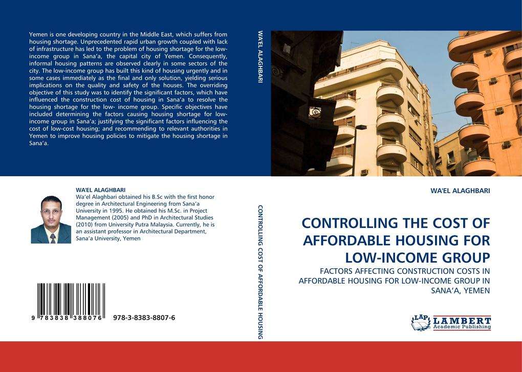 CONTROLLING THE COST OF AFFORDABLE HOUSING FOR LOW-INCOME GROUP als Buch von WA´EL ALAGHBARI - WA´EL ALAGHBARI