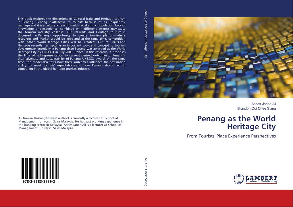 Penang as the World Heritage City als Buch von Anees Janee Ali, Brandon Ooi Chee Siang - LAP Lambert Academic Publishing