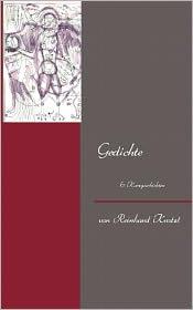 Gedichte - Reinhard Kratzl, von Reinhard Kratzl