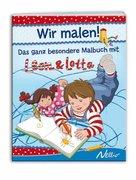 Köhler, Stefanie: Wir malen! Das ganz besondere Malbuch mit Leon und Lotta