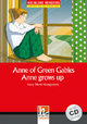 Anne of Green Gables - Anne grows up, mit 1 Audio-CD - Lucy Maud Montgomery