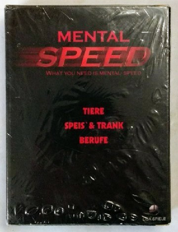 Mental Speed. Tiere - Speis & Trank - Berufe. What you need is mental Speed. R-040898.