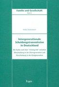 Diefenbach, Heike: Intergenerationale Scheidungstransmission