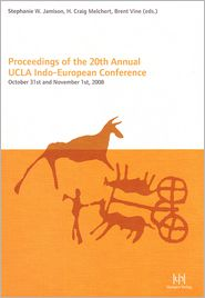 Proceedings of the 20th Annual UCLA Indo European Conference: October 31st and November 1st, 2008