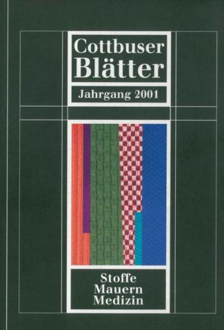 Cottbuser Blätter - Regia Verlag