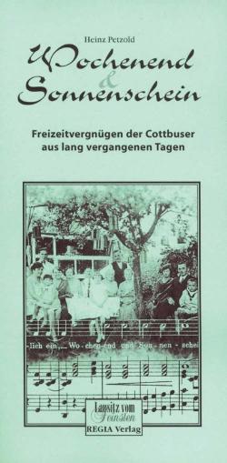 Wochenend und Sonnenschein - Regia Verlag
