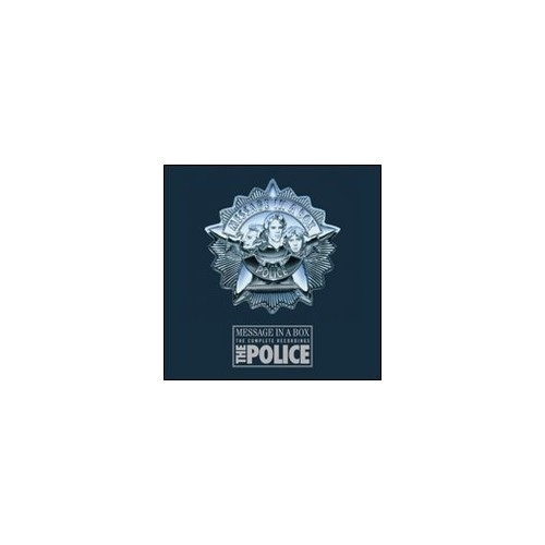 The Police. Buch + 4 CDs