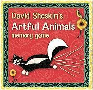 David Sheskin's Artful Animals Memory Game [With Booklet] - Sheskin, David