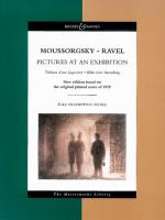 Pictures at an Exhibition: The Masterworks Library: Orchester. Studienpartitur.