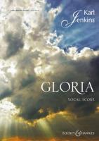 Gloria: Solo, gemischter Chor (SATB) und Orchester. Klavierauszug.